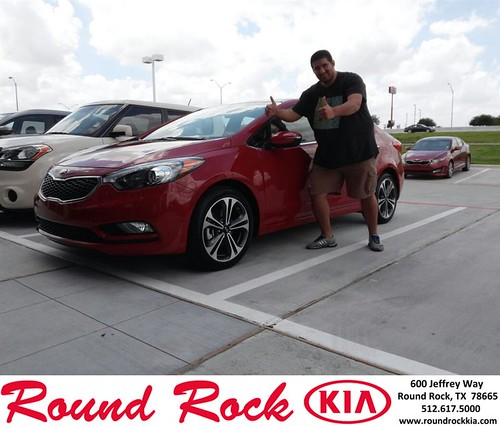Thank you to Douglas Acosta on the 2014 Kia Forte from Kevin Rodriguez and everyone at Round Rock Kia! by RoundRockKia