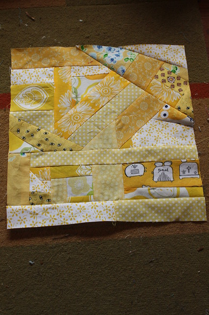 Yellow Block, complete!