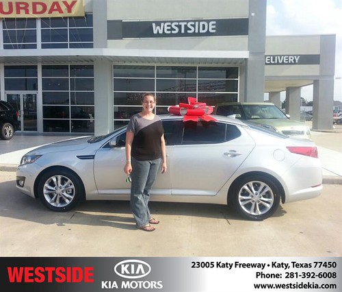 Happy Birthday to Jeniffer Walker from Wilfredo Suliveras and everyone at Westside Kia! by Westside KIA