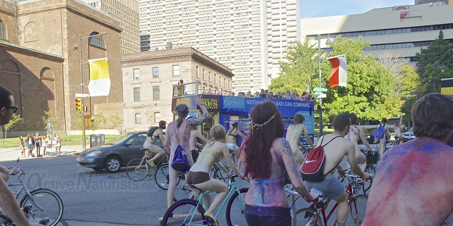 naturist 0068 Philly Naked Bike Ride, Philadelphia, PA USA