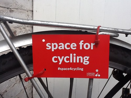 space for cycling (Newcastle)