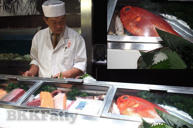 fresh fish sushi bar hou yuu asoke bangkok
