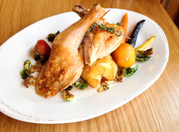 Roasted Jidori Chicken, Provenance