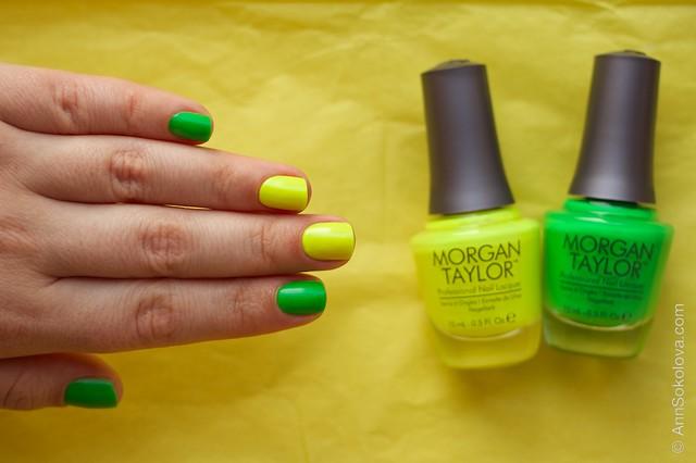 04 Morgan Taylor Go For The Glow + Watt Yel lookin At?