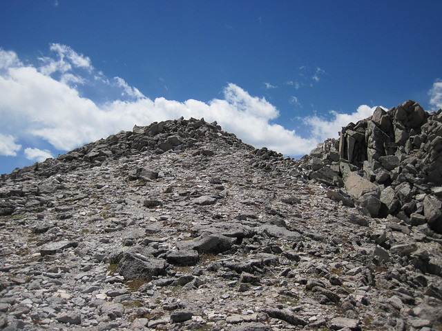 Picture from Tabeguache Peak