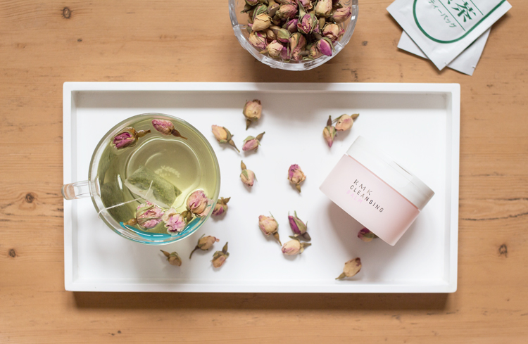 ROSE Aerial tea, RMK, tea