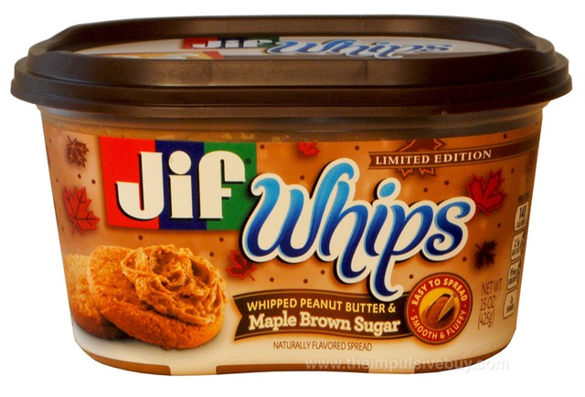 Limited Edition Jif Whips Maple Brown Sugar