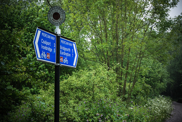 Shropshire cycle routes
