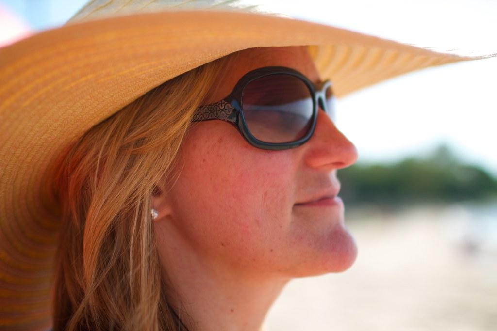 Jen with hat