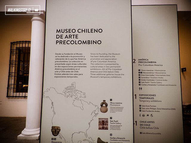Museo Chileno de Arte Precolombino de Santiago en calle Bandera 361, Plaza de Armas