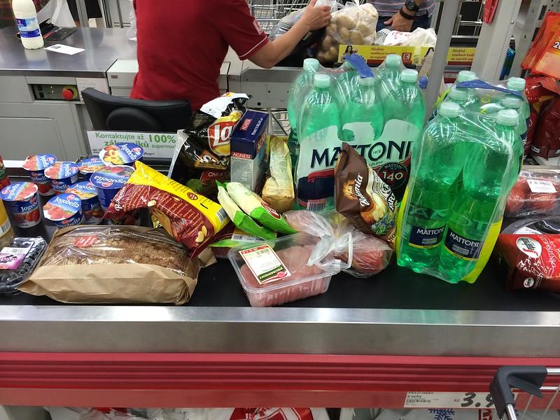 Shopping Like Americans (8/8/14)