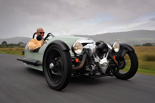 Morgan 3 Wheeler: Roadster Estilo Retro de 3 Ruedas