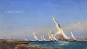 Lagune dans la Méditerranee Ziem