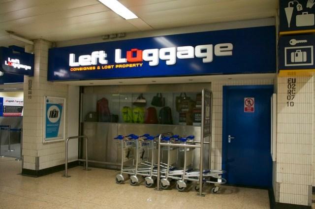 Euston Left Luggage