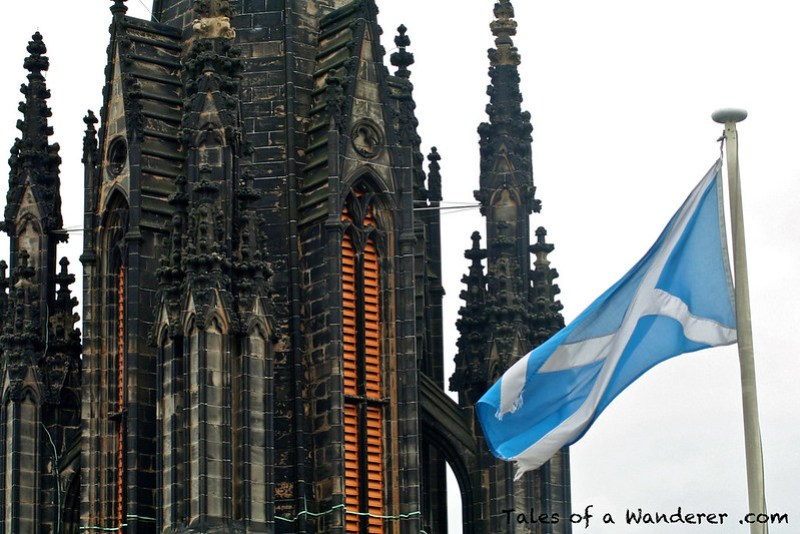 EDINBURGH - The Hub / Flag of Scotland