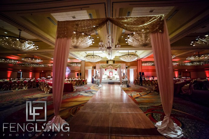 Reception | Crowne Plaza Ravinia | Atlanta Pakistani Muslim Wedding