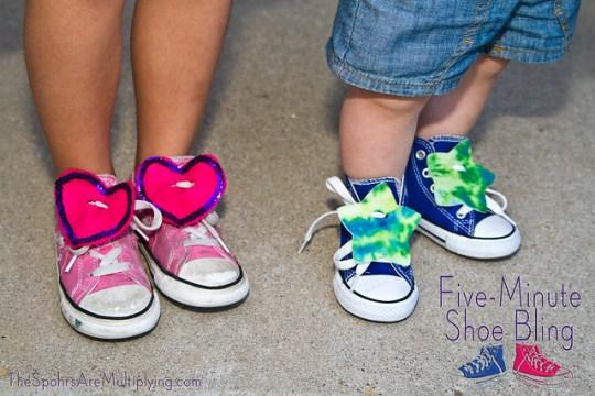 Five-Minute Shoe Bling