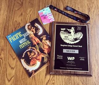 Pacific Basin Music Festival goodies. #conductor #rangitoto #concertband