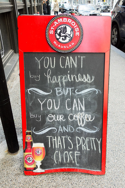 Mon Cafe really has one deelish latte.