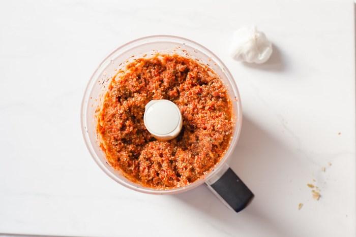 Rosemary and Pepita Sun-Dried Tomato Pesto
