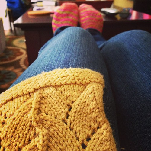 Hand Knit weather!