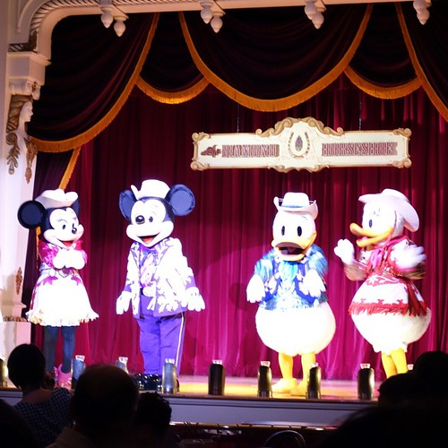 プライベートパーティーにはミッキー、ミニー、ドナルド、デイジーが!