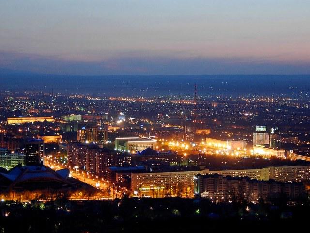 Night Almaty