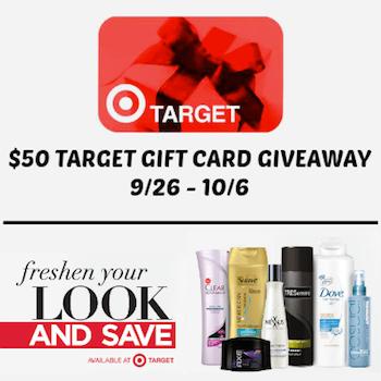 $50 Target Giveaway