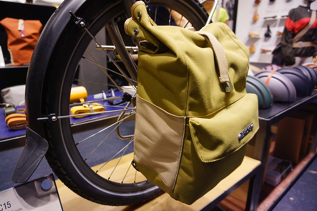 Eurobike 2014: Brooks Norfolk and Suffolk panniers