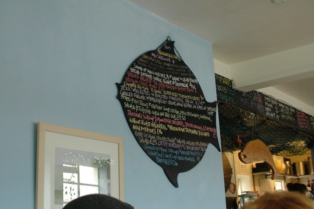 Cafe Fish - Menu
