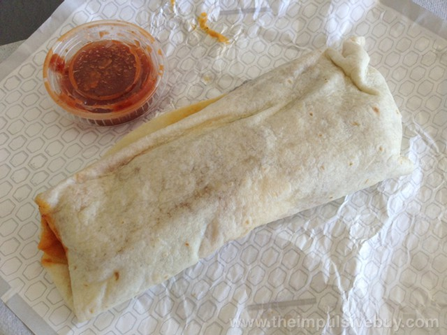 Jack in the Box Sausage Grande Breakfast Burrito Foilless