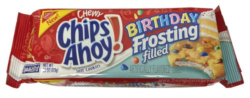 Nabisco Birthday Frosting Filled Chewy Chips Ahoy