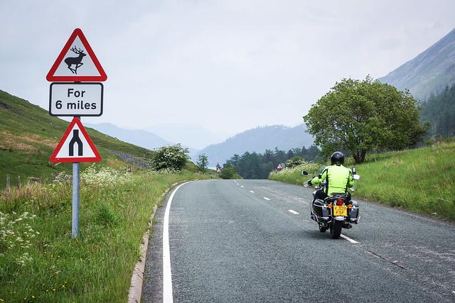 Cumbrian main road