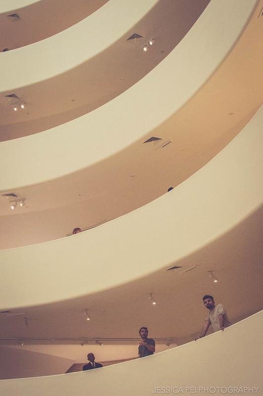 Guggenheim visitors