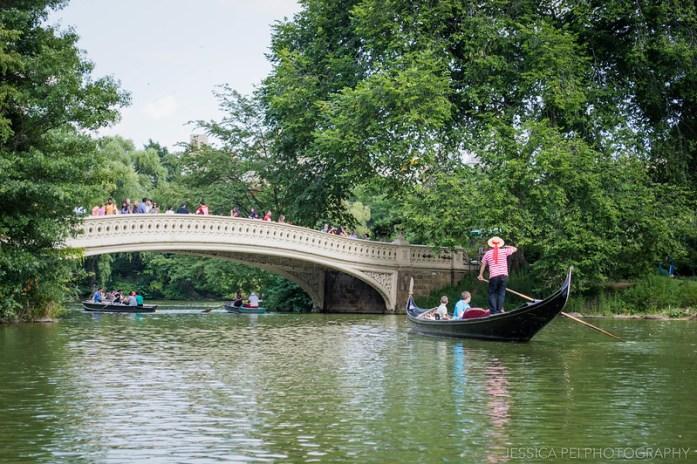 gondola central park boat