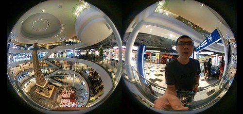 ภาพวิดีโอแบบ Spherical ของวิดีโอ 360 องศา