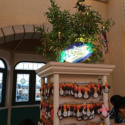 東京ディズニーランド・ステーションは改札の外にウィッシングプレイスがあります。
