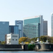 Shiodome from Sumida River [Explore]