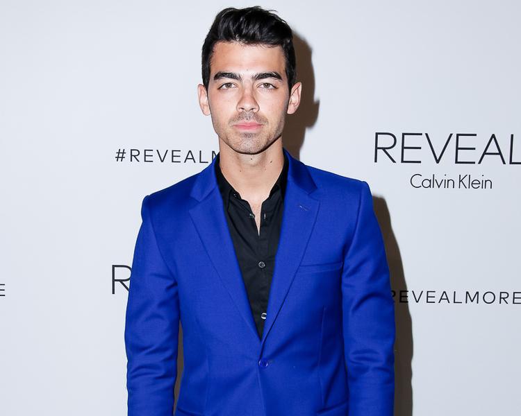 Joe Jonas at the Calvin Klein Reveal launch