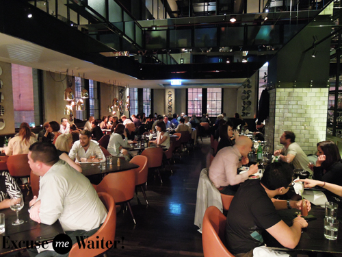 busy restaurant scene. Or Even The New York Restaurant Scene. It\u0027s Pretty Busy For A Saturday Night But We\u0027re Seated Promptly With Stunning Views Overlooking QVB And Scene T