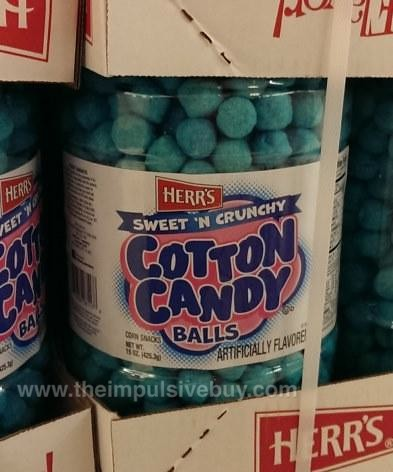 Herr's Sweet 'N Crunchy Cotton Candy Balls