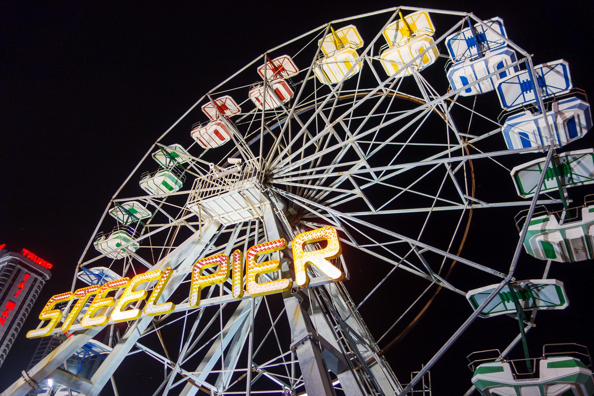 Steel Pier Ferris Wheel, Atlantic City.