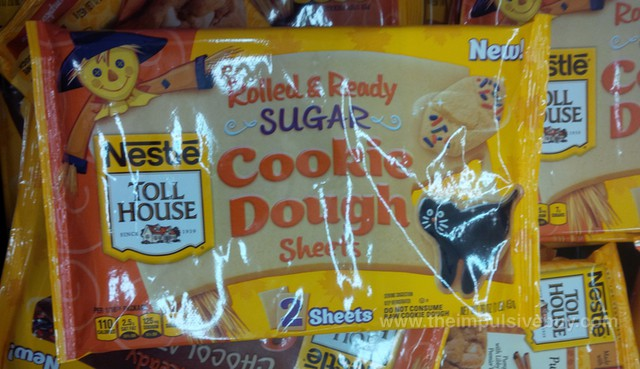 Nestle Toll House Rolled & Ready Sugar Cookie Dough Sheets