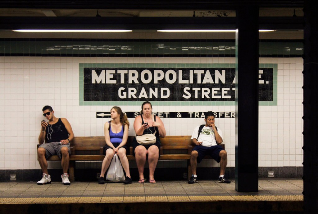 metroen i NYC