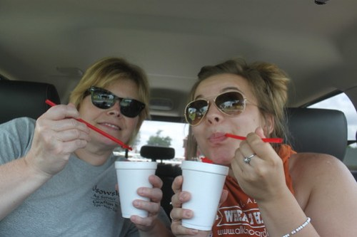 Sno-cones. Low budget wonder and it's too cold to have them in ND.