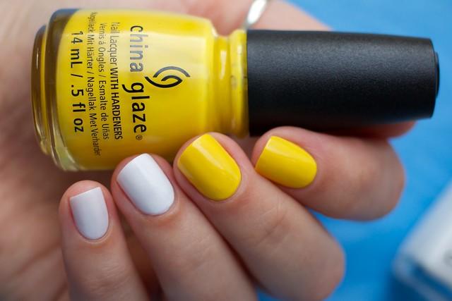 02 Chanel Eastern Light + China Glaze Happy Go Lucky