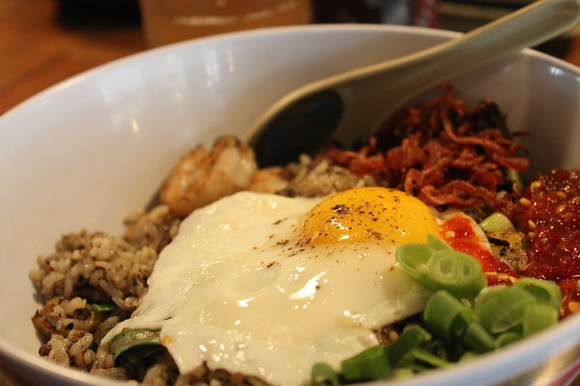 Comer en Boston: Nasi goreng, en 'Myers+Chang' (Boston)