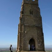 014-20170313_Glastonbury Tor-Somerset-St Michael's Tower on summit of Tor viewed from E-Julia Kaye