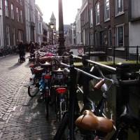 Wild Bicycle Parking in Utrecht