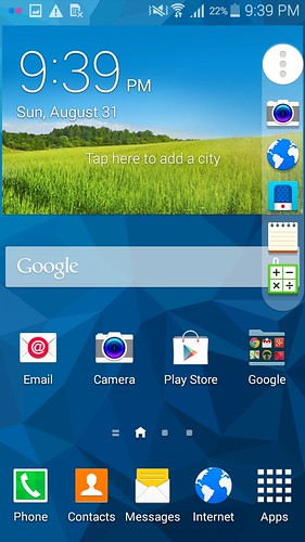 Toolbox บน Samsung Galaxy Mega 2
